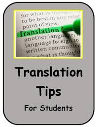 translation tips for students
